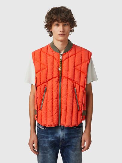 Diesel - J-HAW, Orange - Jackets - Image 1