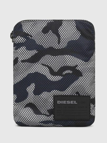 Diesel - F-DISCOVER CROSS, Grey/Blue - Crossbody Bags - Image 1