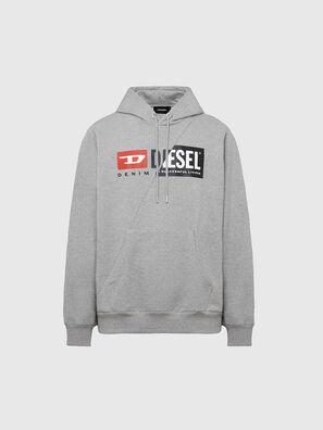 S-GIRK-HOOD-CUTY, Light Grey - Sweaters
