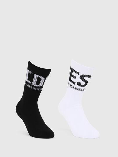 Diesel - SKM-ZRAYBIPACK, Black/White - Underwear - Image 1