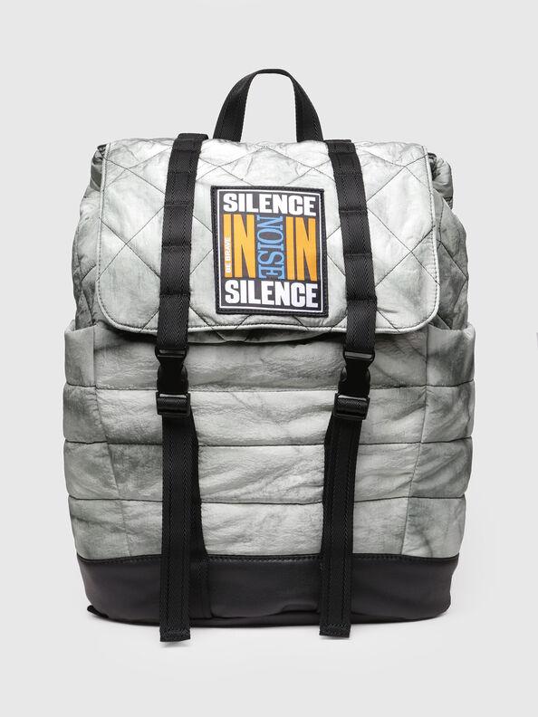 F-HEYODA BACK L, Silver - Backpacks