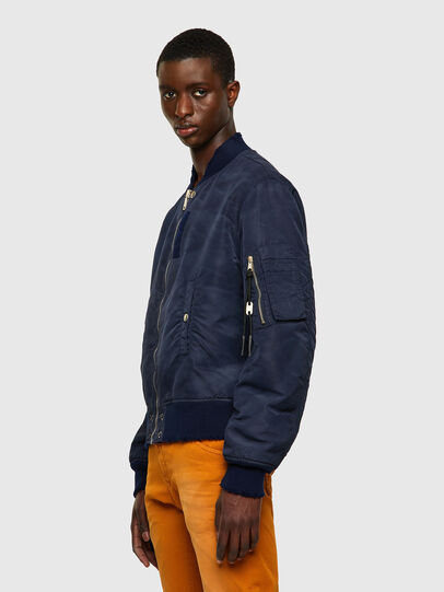 Diesel - J-MA-ONE-A, Dark Blue - Jackets - Image 4