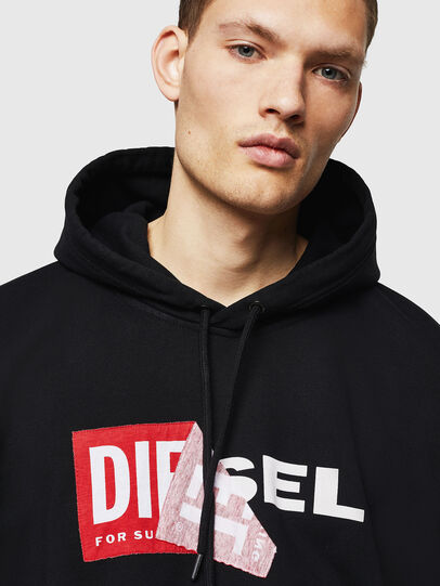 Diesel - S-ALBY, Black - Sweaters - Image 3