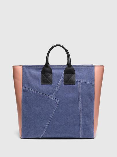 Diesel - LEENA L, Blue/Pink - Shopping and Shoulder Bags - Image 2