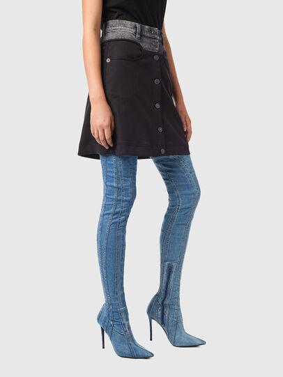 Diesel - O-LIA, Black - Skirts - Image 5