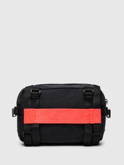 Diesel - ROEDER, Black/Green - Crossbody Bags - Image 2