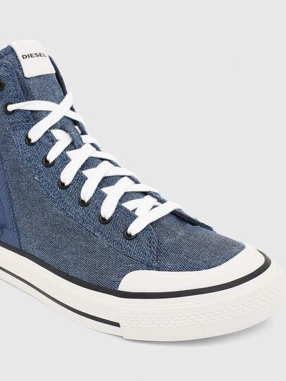 Diesel - S-ASTICO MID ZIP, Light Blue - Sneakers - Image 4
