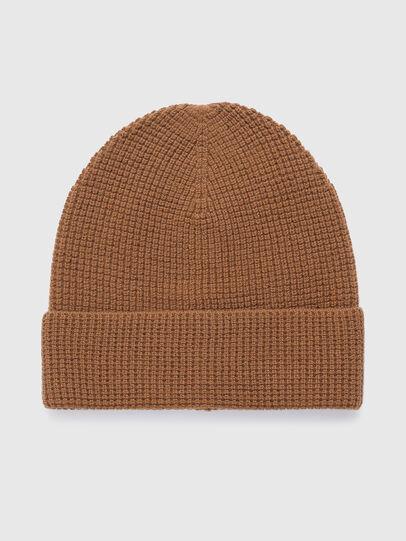Diesel - K-ABILENE, Light Brown - Knit caps - Image 2
