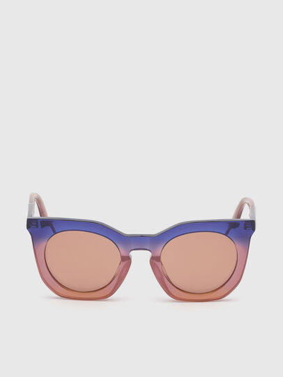 Diesel - DL0283, Violet - Sunglasses - Image 1