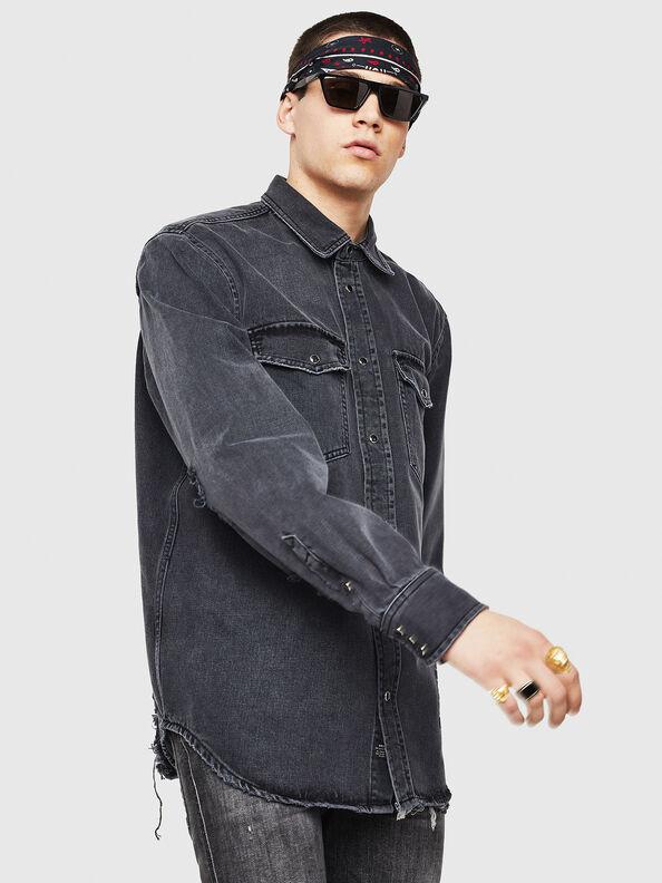 D-ROOKE-L,  - Denim Shirts