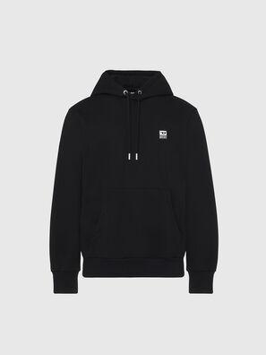 S-GIRK-HOOD-K21, Black - Sweaters
