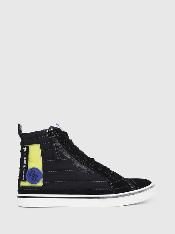 D-VELOWS MID PATCH W, Black - Sneakers
