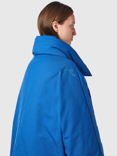 Diesel - W-THEA, Blue - Winter Jackets - Image 4