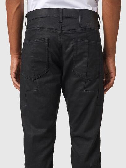 Diesel - D-Strukt JoggJeans® 069YH, Black/Dark grey - Jeans - Image 4