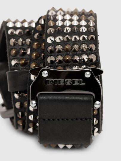 Diesel - B-FULSTAD, Black - Belts - Image 4
