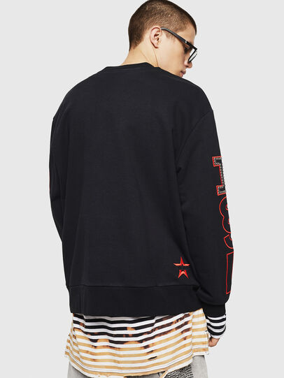Diesel - S-BAY-STUDS, Black - Sweaters - Image 2