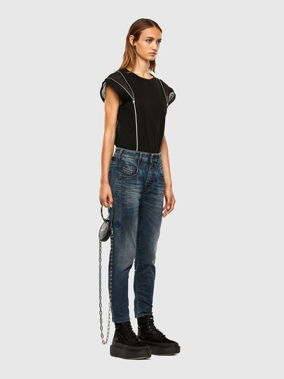 Diesel - Fayza JoggJeans 069PD, Dark Blue - Jeans - Image 7