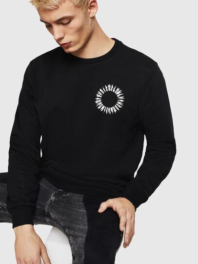 Diesel - S-GIR-A3, Black - Sweaters - Image 4
