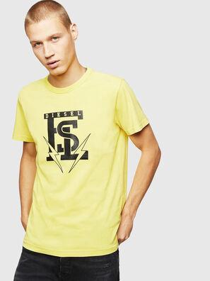 T-DIEGO-B14, Yellow - T-Shirts