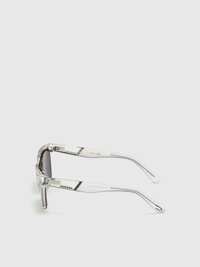 Diesel - DL0250, White - Sunglasses - Image 3
