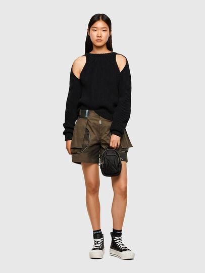 Diesel - M-SAPPHIRE, Black - Knitwear - Image 5