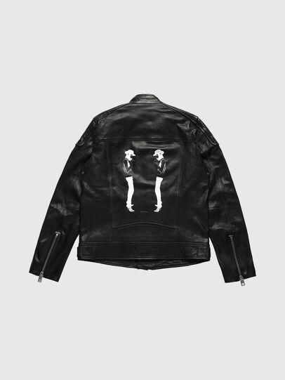 Diesel - US-L-CODY, Black - Leather jackets - Image 2