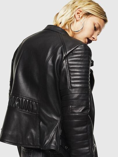 Diesel - L-IGE,  - Leather jackets - Image 3