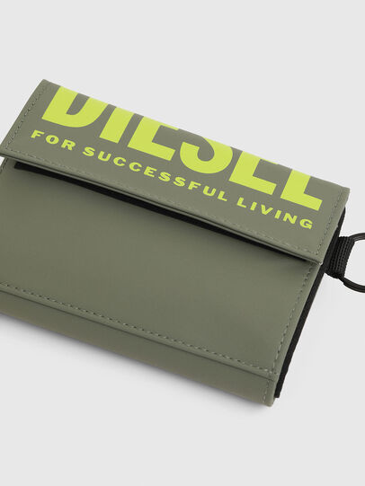 Diesel - YOSHI II, Olive Green - Small Wallets - Image 6