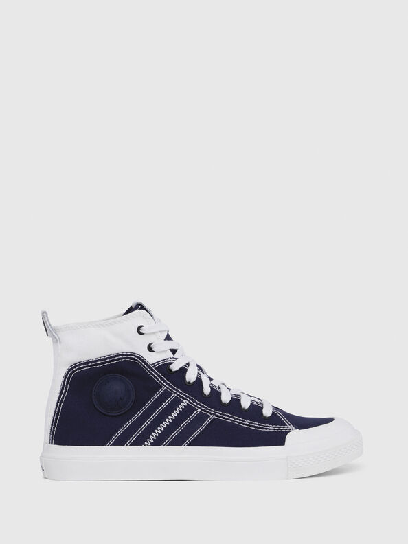 S-ASTICO MID LACE, Blue/White - Sneakers