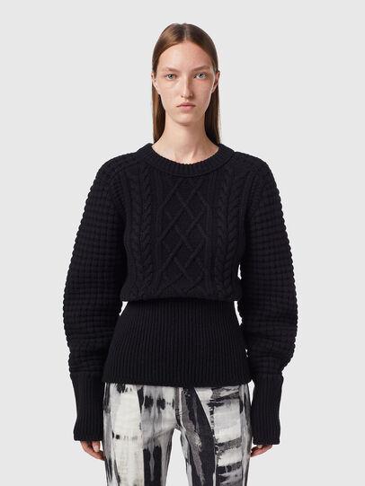 Diesel - M-YSABELL, Black - Knitwear - Image 1