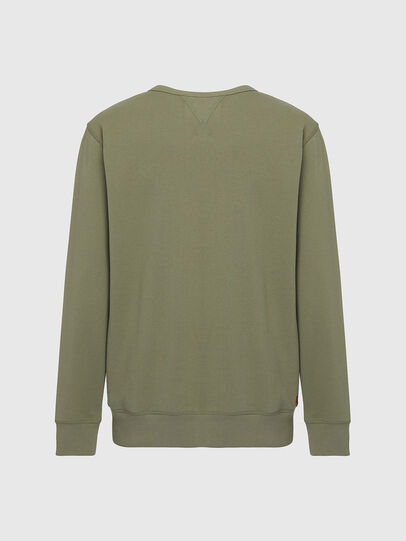 Diesel - UMLT-WILLY, Olive Green - Sweaters - Image 2