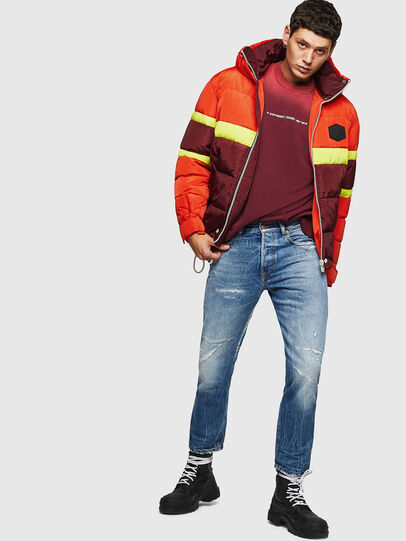 Diesel - W-MARTOS, Orange - Winter Jackets - Image 6