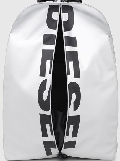Diesel - F-BOLD BACK, Silver/Black - Backpacks - Image 4