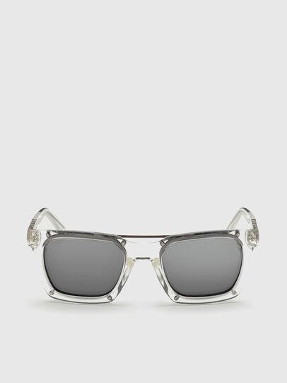 Diesel - DL0250, White - Sunglasses - Image 1