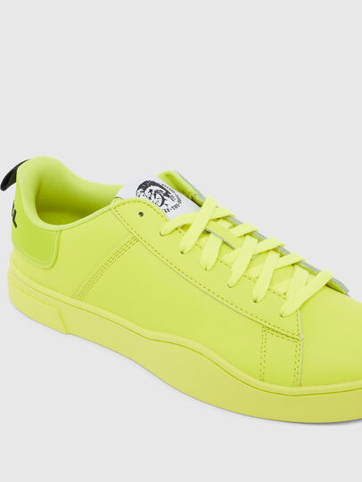 Diesel - S-CLEVER LOW LACE, Yellow - Sneakers - Image 4