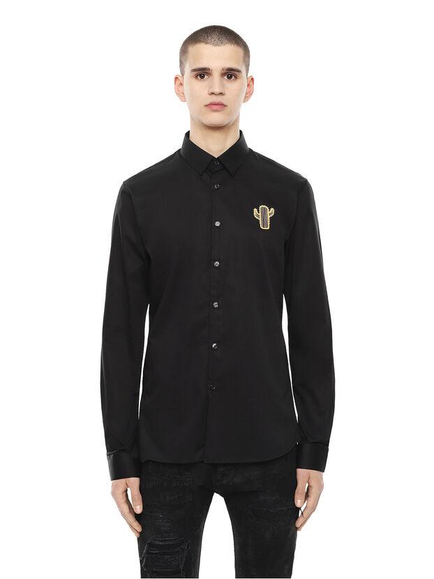 SIRRIVE-CACTUS, Black - Shirts