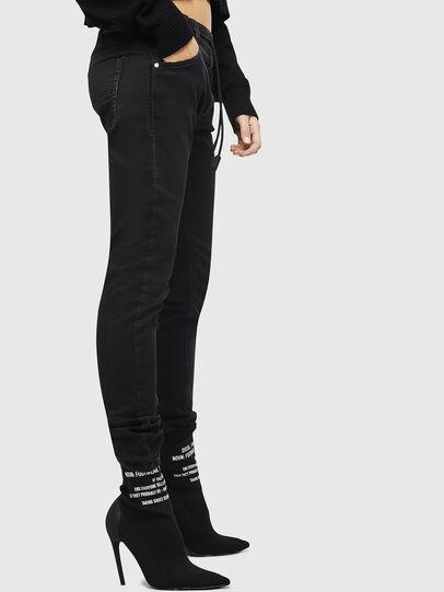 Diesel - Krailey JoggJeans 0687Z, Black/Dark grey - Jeans - Image 6