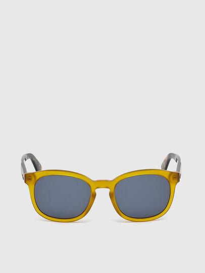Diesel - DM0190, Yellow - Sunglasses - Image 1