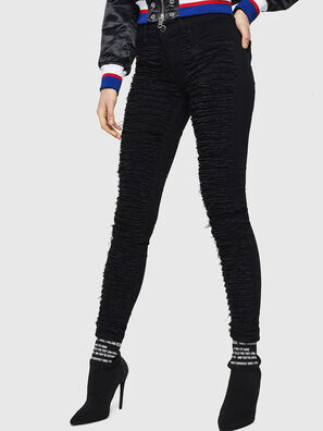 Dhary 0686M, Black/Dark grey - Jeans