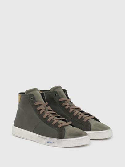 Diesel - S-MYDORI MC, Military Green - Sneakers - Image 2