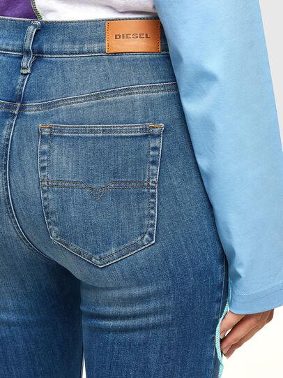 Diesel - D-Roisin High 009PE, Medium blue - Jeans - Image 4