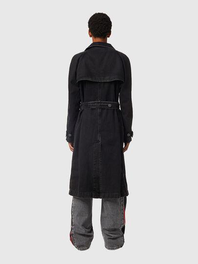 Diesel - D-DELIRIOUS, Black - Denim Jackets - Image 3