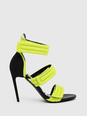 SA-SLANTY HST, Yellow Fluo - Sandals