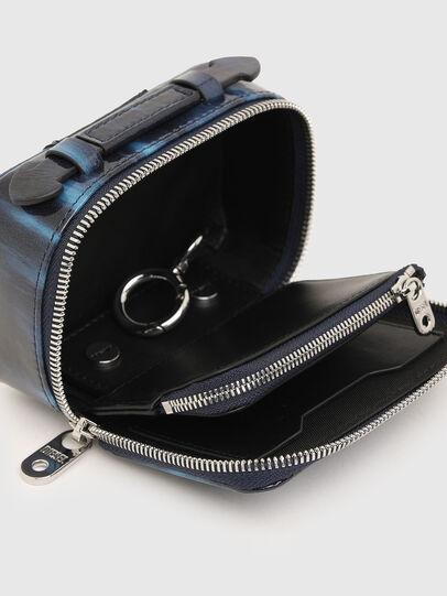 Diesel - BOMBY II, Blue - Small Wallets - Image 3