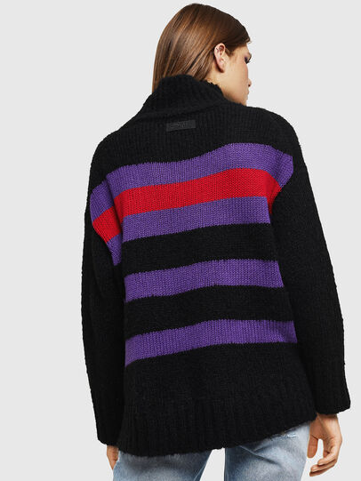 Diesel - M-CARA, Black - Knitwear - Image 2