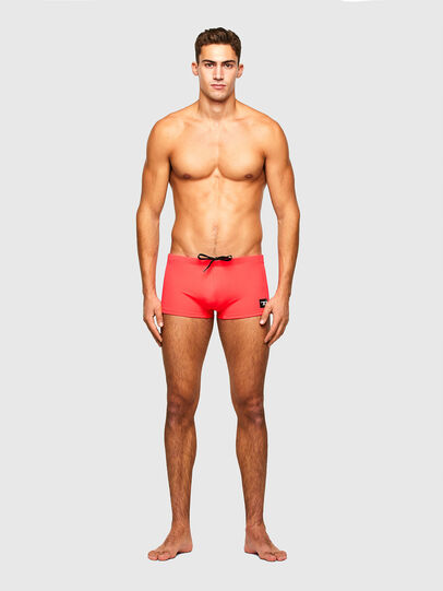 Diesel - BMBX-HERO, Pink - Swim trunks - Image 1