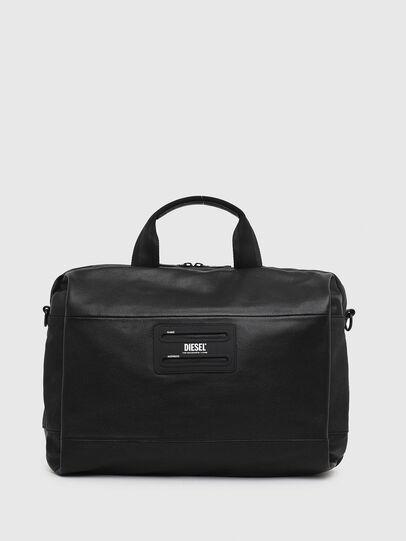Diesel - D-SUBTORYAL BRIEF, Black - Briefcases - Image 1