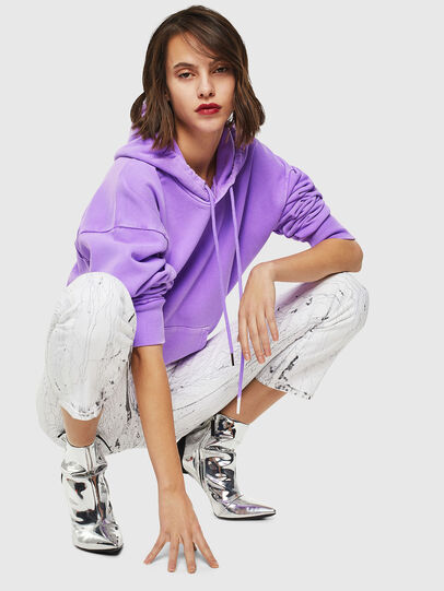 Diesel - S-ALBY-FLUO, Lilac - Sweaters - Image 5