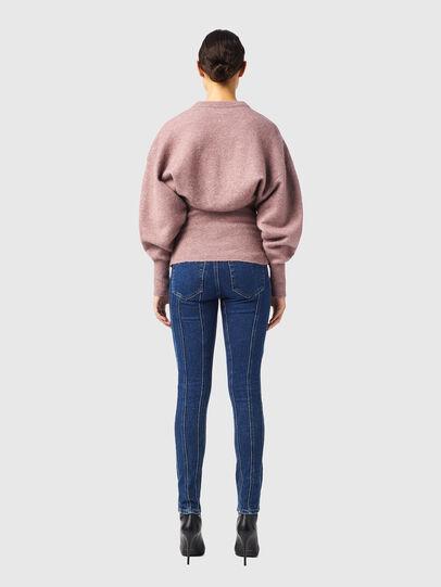 Diesel - M-BRUNS, Pink - Knitwear - Image 5