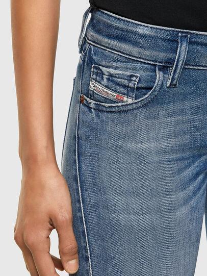 Diesel - Slandy Low 009JI, Light Blue - Jeans - Image 3